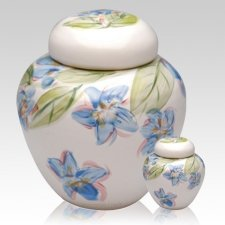 Blue Dogwood Cremation Urns