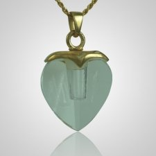 Glass Heart Memorial Jewelry II