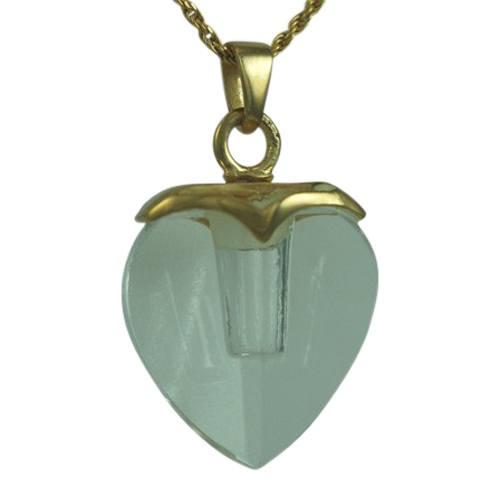 Glass Heart Memorial Jewelry II