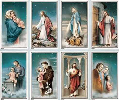 Heaven Prayer Cards