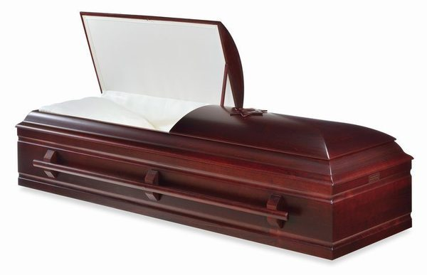 Hebron Wood Casket