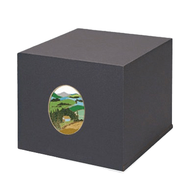 Swedish Mountain Cremation Urn