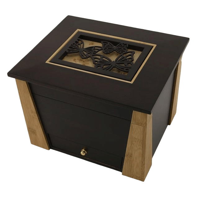 Hinged Butterfly Cremation Urn