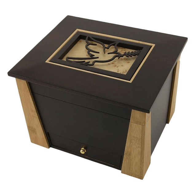 Hinged Dove Cremation Urn