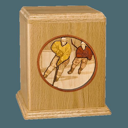Hockey Cremation Urn II