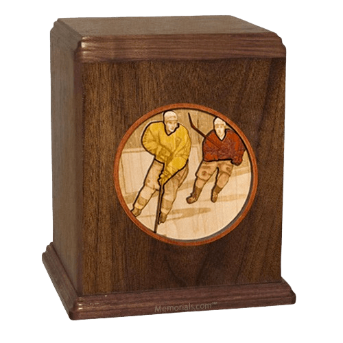 Hockey Cremation Urn