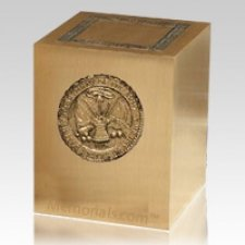 Military Army Cremation Urn