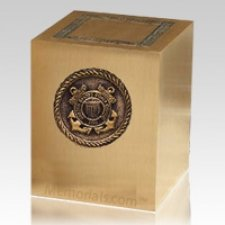 Military Coast Guard Cremation Urn