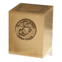 Military Marines Cremation Urn