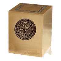Military Navy Cremation Urn
