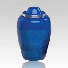 Glacier Blue Medium Urn