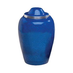 Glacier Blue Medium Urn