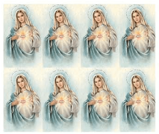 Immaculate Mary Prayer Cards