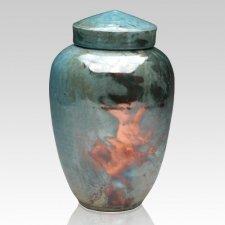 Imperiala Raku Cremation Urn