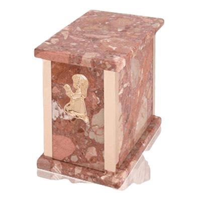 Design Pernice Praying Girl Marble Urn