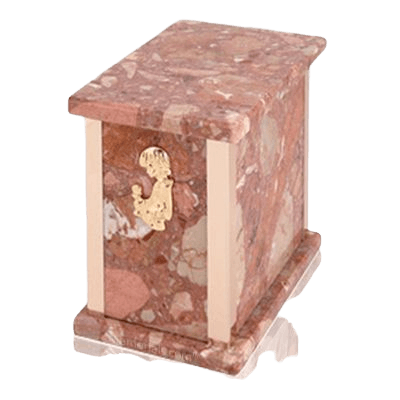 Design Pernice Child with Toy Marble Urn