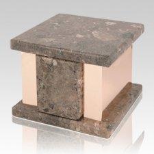 Infinita Rosatica Marble Medium Urn