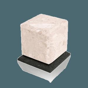 Grande Perlato Marble Medium Urn