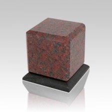 Grande African Red Granite Medium Urn