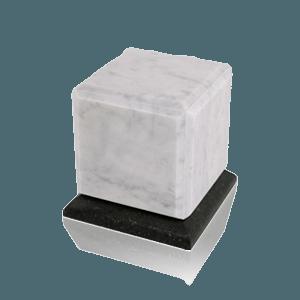 Grande Bianco Marble Medium Urn