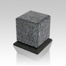 Grande Blue Pearl Granite Medium Urn