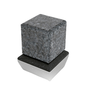 Grande Blue Pearl Granite Medium Urn