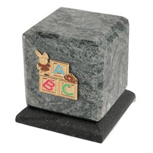 Graceful Jade ABC Bunny Cremation Urn