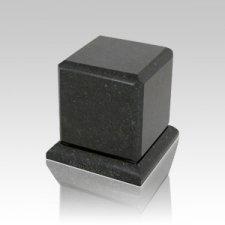 Grande Cambrian Black Granite Medium Urn
