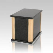 Solitude Cambrian Black Granite Medium Urn
