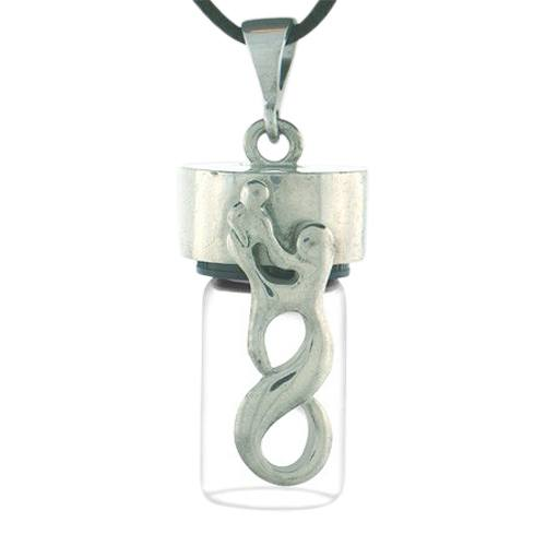 Infinity Cremation Necklace
