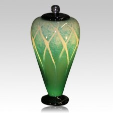 Jungle Art Cremation Urn