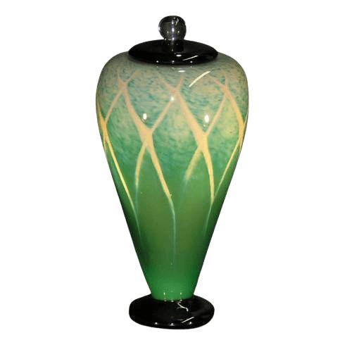 Jungle Art Cremation Urn