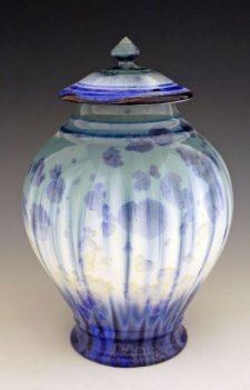 Volcanic Art Cremation Urn