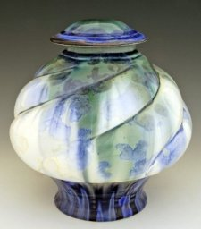 Delia Art Cremation Urn