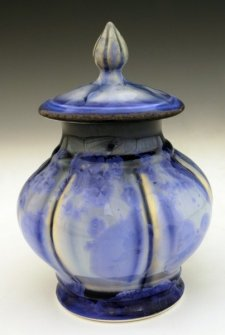 Pantalonius Pet Porcelain Cremation Urn