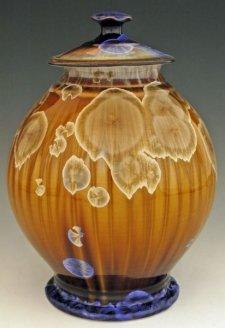 Summer Day Art Cremation Urn