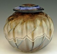 Flowing Pet Porcelain Cremation Urn