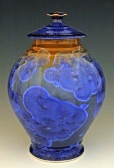Ocean Spray Art Cremation Urn
