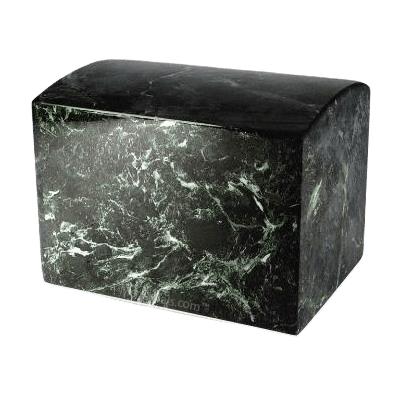 Gunn Jade Marble Cremation Urn