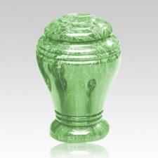 Jade Marble Cremation Urn III