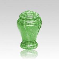 Jade Marble Cremation Urn II