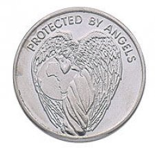 Protected by Earth Angel Keepsake Coins