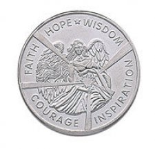 Hope & Wisdom Angel Keepsake Coins