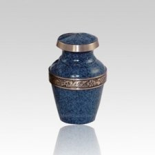 Avalon Blue Small Pet Urn