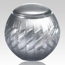 Crystal Globe Children Cremation Urn