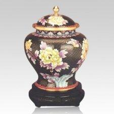 Mystic Cloisonne Cremation Urn