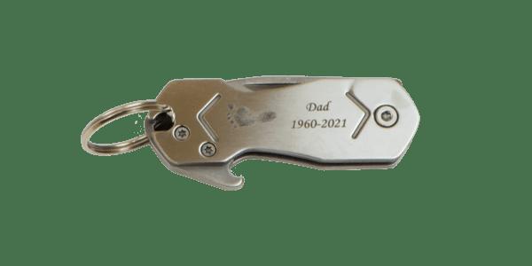 Multi-Tool Footprint Keychain
