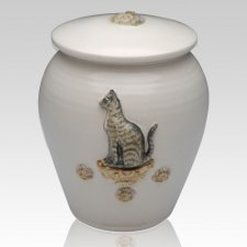 My Kitty Ceramic Cremation Urn
