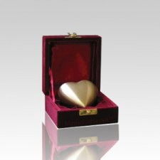 Bronze Heart Pet Keepsake Urn