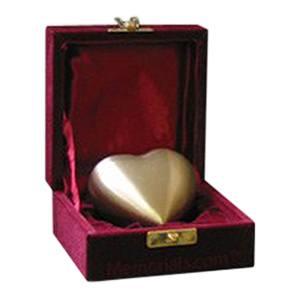 Bronze Heart Pet Keepsake Urn